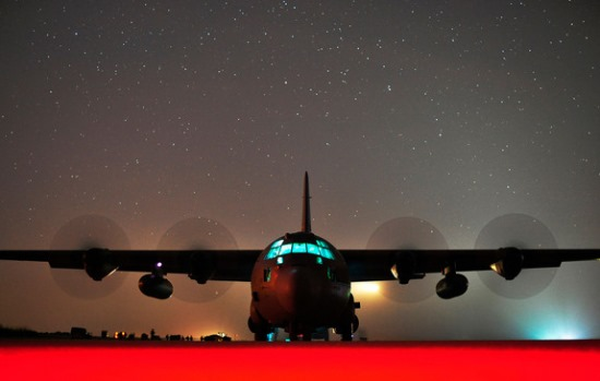 6. air-force-night-sky
