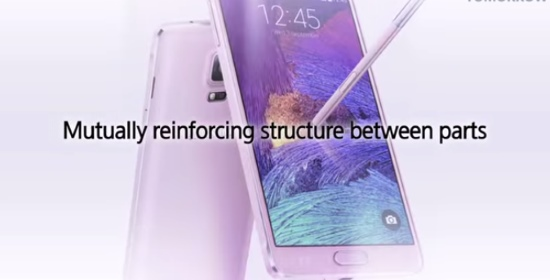 Galaxy Note4 test